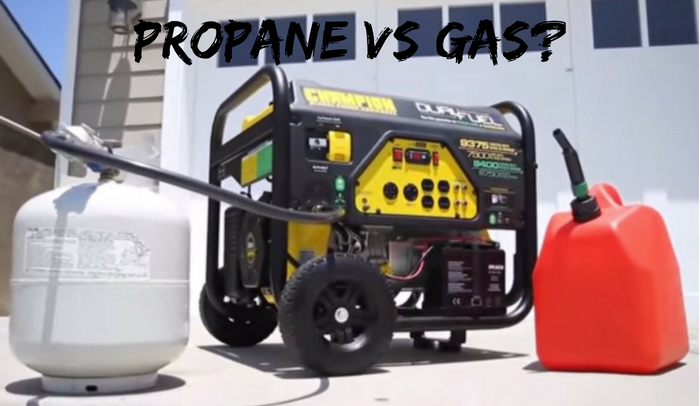 is a propane generator better than gas