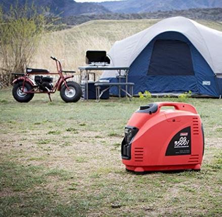coleman 3000 watt inverter generator for camping rv