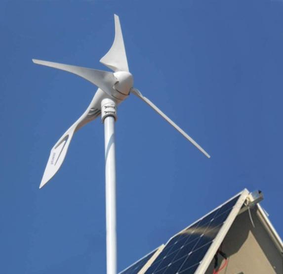 pikasola 400 watt wind turbine review