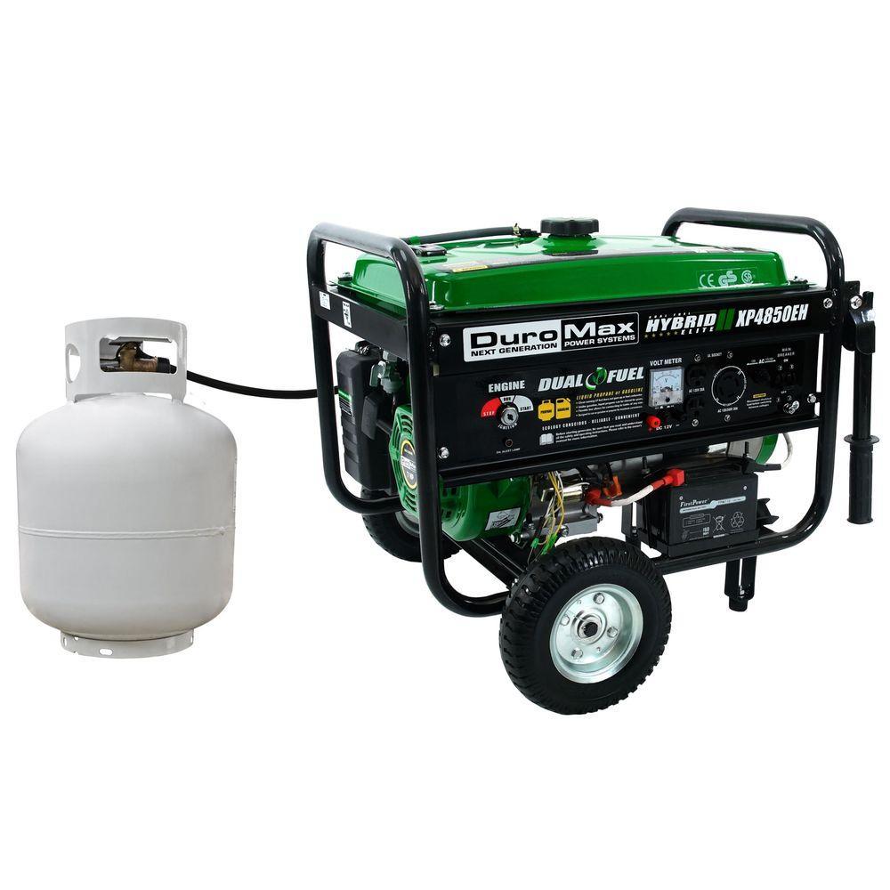 propane lpg dual fuel generator