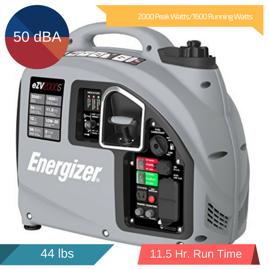 energizer ezv2000s inverter generator review 2018