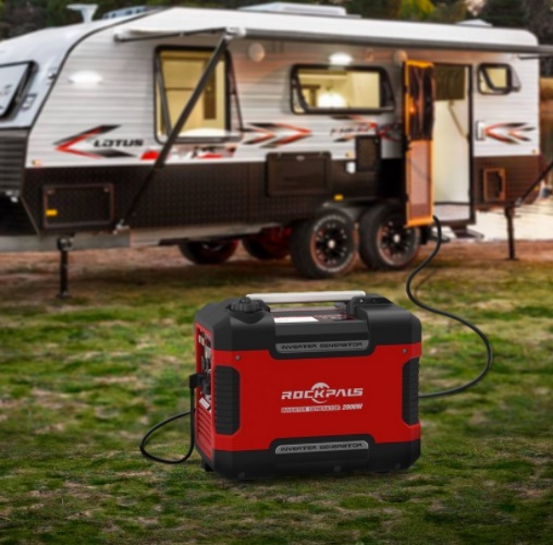 rockpals r2000i inverter generator for camping travel trailer rv