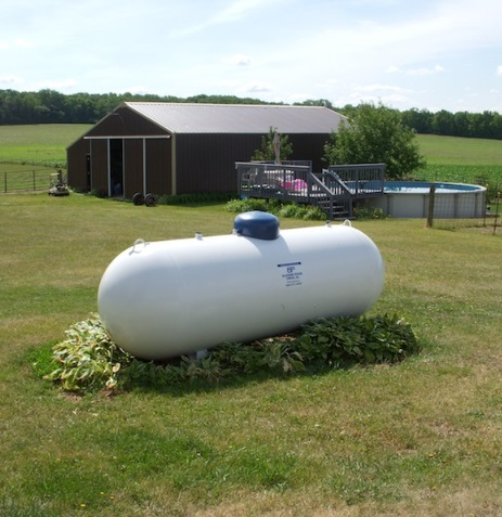 500 gallon propane tank for portable generator