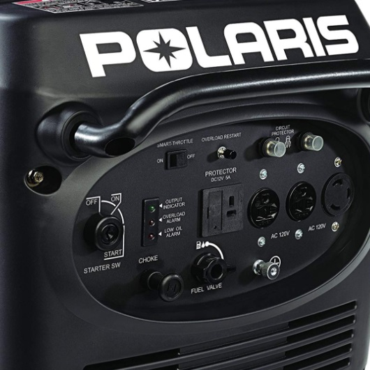 polaris p3000ie inverter generator features