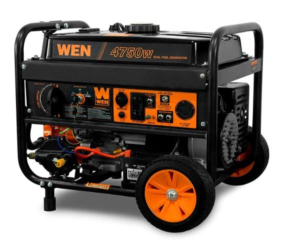 wen 4750 watt portable generator